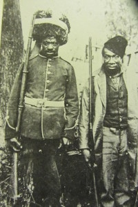 Courtesy of New Brunswick Museum Black soliders