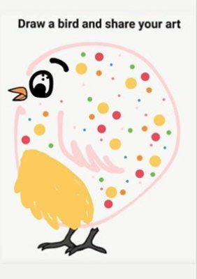 'Polkda dot bird' Sophie Bee/Submitted